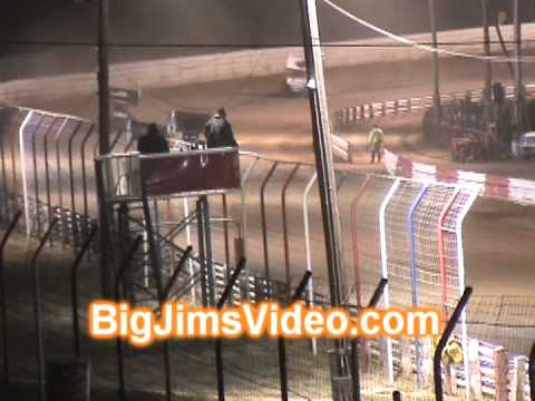 Selinsgrove Speedway 4-6-13 Tony Stewart Sprint Car Win + Flip
