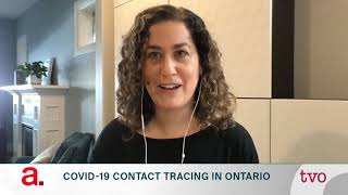COVID-19 Contact Tracing in Ontario