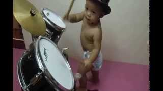 Baby Drummer- Base drum,Snare,Tom Tom,Crash Thumbnail