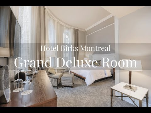 Hotel Birks Montreal Grand Deluxe Room Tour | Traveling With The Davises