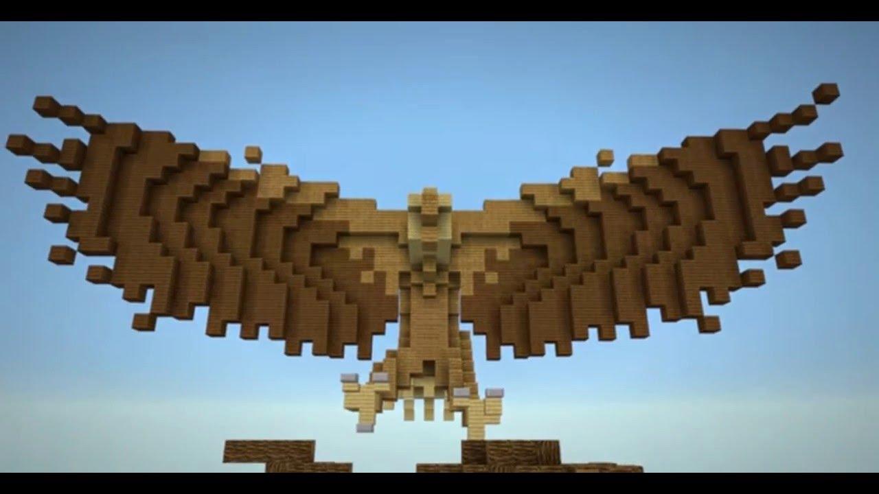 5 massive animal statue designs ideas minecraft 5 анимационных