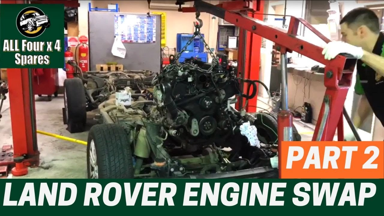 Land Rover Discovery 4 Engine Swap Replacement - PART 2