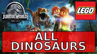 Lego Jurassic World: All Dinosaurs Unlocked - All Dinos