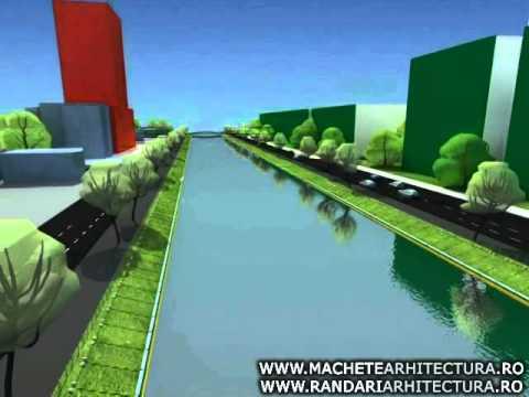 Rehabilitation of a river animation