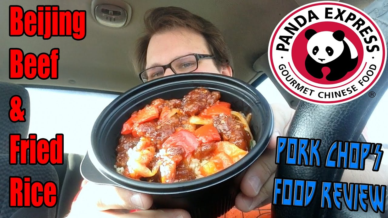 Pork chops food review panda express beijing beef fried rice pork chops food review panda express beijing beef fried rice ccuart Images