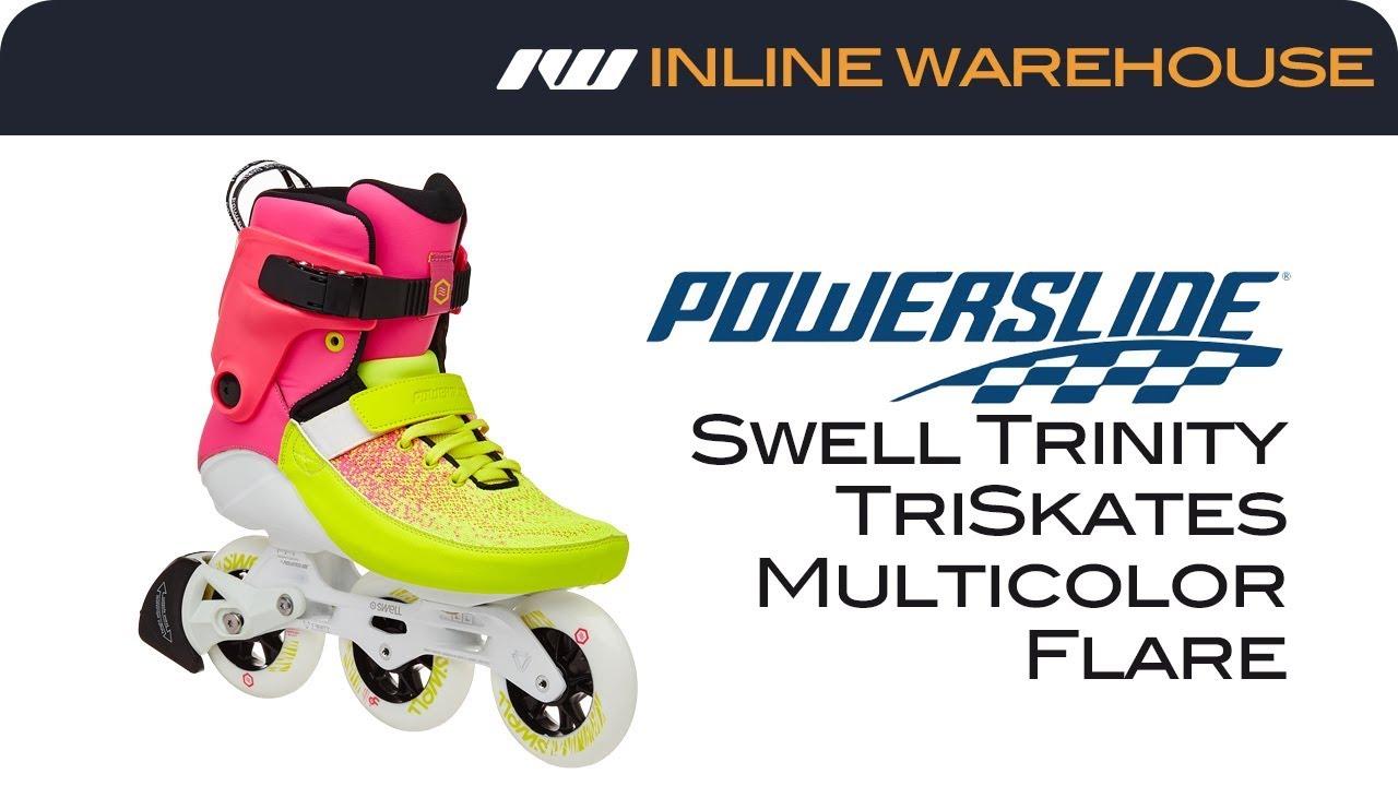 166e245f51b 2018 Powerslide Swell Trinity Skate Review - YouTube