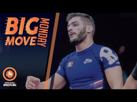 Big Move Monday -- Anthony DE OLIVEIRA (FRA) -- 2017 Grappling World C'ships