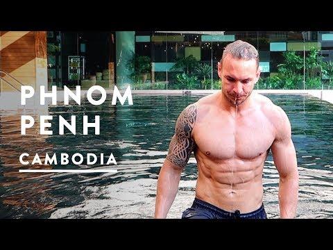 PHNOM PENH CAMBODIA VLOG - AQUARIUS HOTEL | Travel Vlog 013, 2017