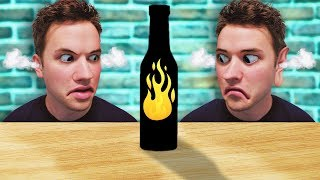 Co-Workers take the GHOST PEPPER Hot Sauce Challenge!