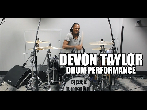 Devon Taylor (Justin Bieber) - 'Drum Performance'