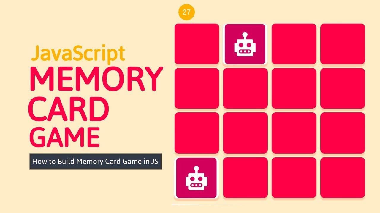 Memory Card Game in JavaScript