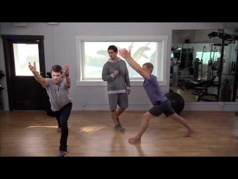 Lower back workout, with Dr. Eric Goodman and Foundation Training