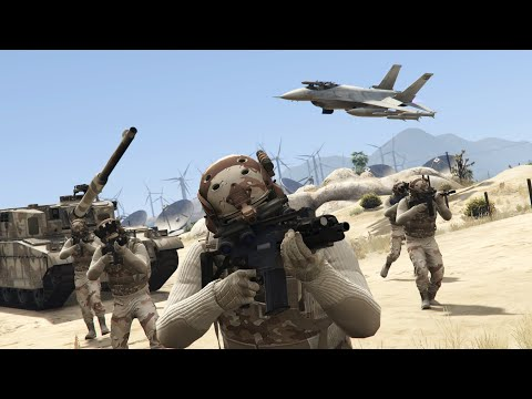 GTA 5 Military crew  Closed