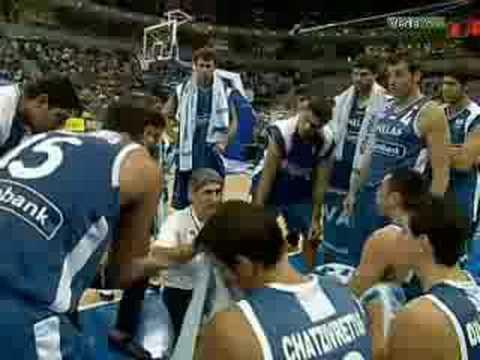 greece - eurobasket 2005 champions - belgrade