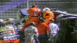 [Reediting]  Gary Batson Fatal Crash 1992 Sportsman 150 Qualifying Race