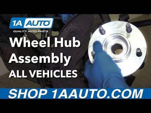 How to Install Replace Front Wheel Hub Assembly All Vehicles! (Complete Guide)