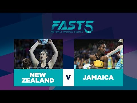 New Zealand v Jamaica | Fast5 World Series 2017