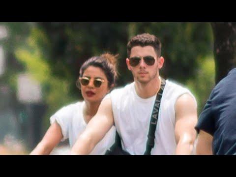 Priyanka Chopra and Nick Jonas Celebrate the 4th of July Bike Riding With His Brother Joe and Sop… Mp3