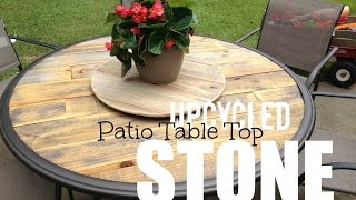 UpCycled Patio Table