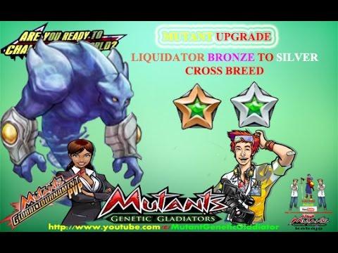 Mutant Genetic Gladiator : Liquidator Silver Cross Breed