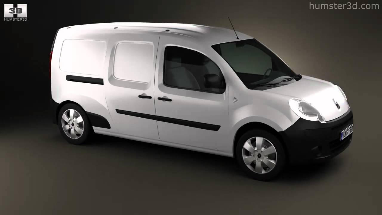 renault kangoo maxi 2011 by 3d model store youtube. Black Bedroom Furniture Sets. Home Design Ideas
