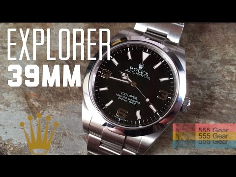 "Review: Rolex Explorer 39mm Ref. 214270 ""As Great as Its Forefathers?"""