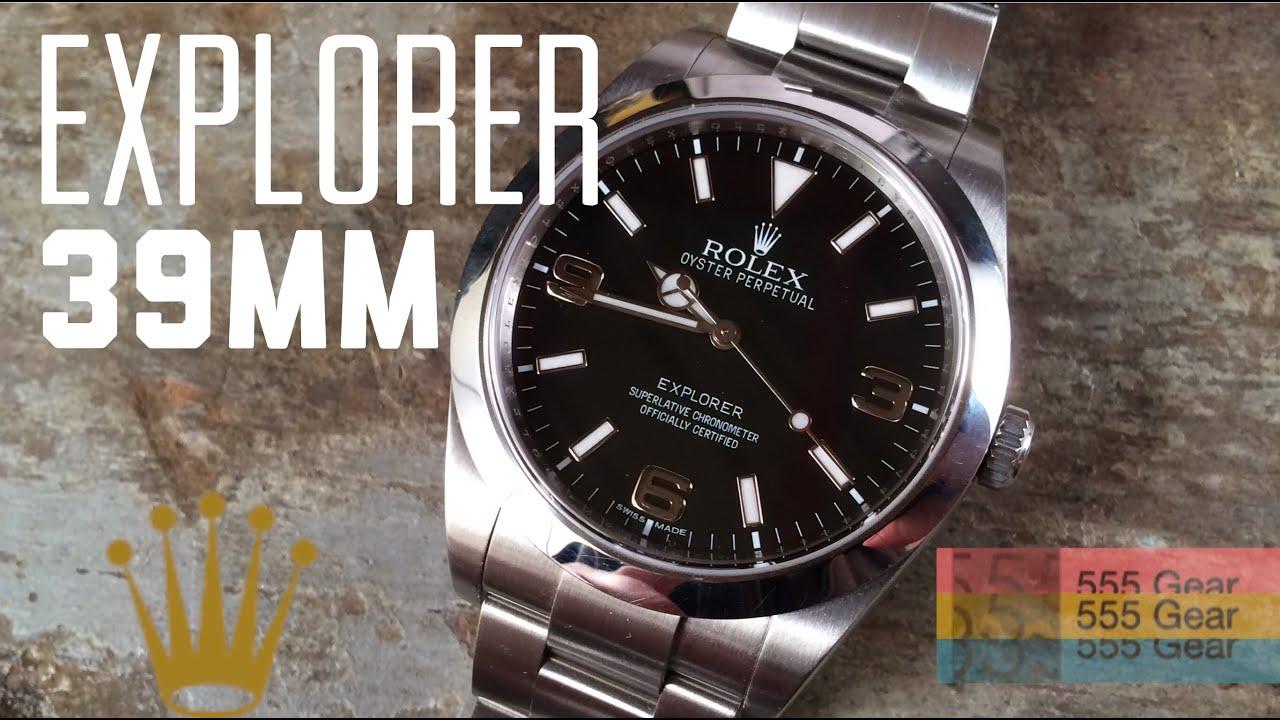 Rolex Explorer 39mm 2017