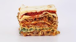 Mamma Leone-Style Meat, Spinach and Sausage Lasagna