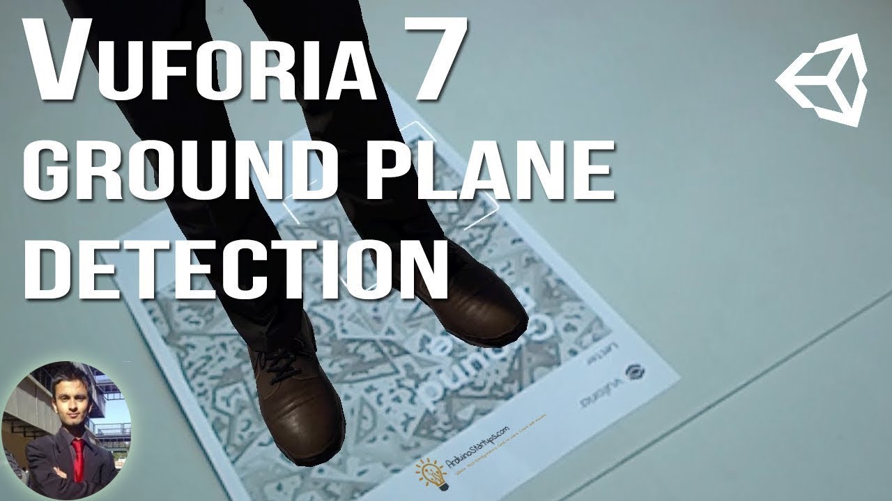 vuforia ground plane supported devices