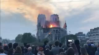 Собор Парижской Богоматери в огне!