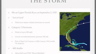 Review of Storm of the Century: Labor Day Hurricane of 1935