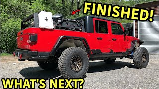 Rebuilding A Wrecked 2020 Jeep Gladiator Rubicon Part 19