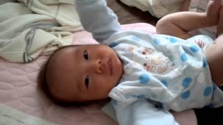 赤ちゃん,碧馬くん,喃語.