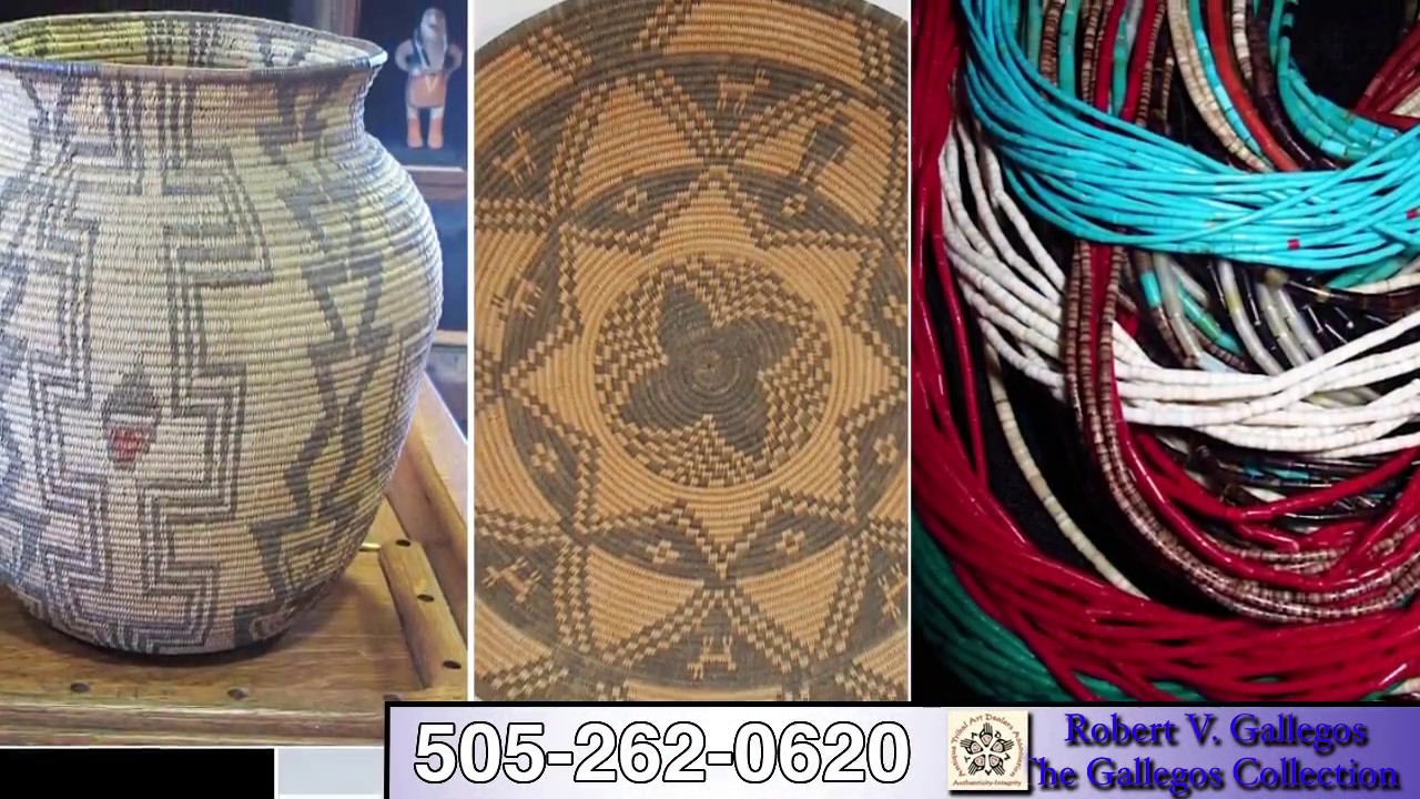 Robert V Gallegos   Buy & Sell Crafts Pre-1950, Native American & New  Mexican Art   Albuquerque, NM