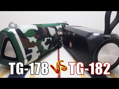 T&G TG178 vs T&G TG182 Solar Speaker Comparison Part I