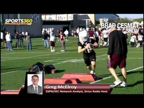Greg McElroy High On Texas A&M, Kyle Allen in 2015
