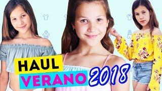 HAUL COMPRAS DE VERANO | MODA 2018 ZARA Kids y H&M | Try on Haul | Daniela Golubeva