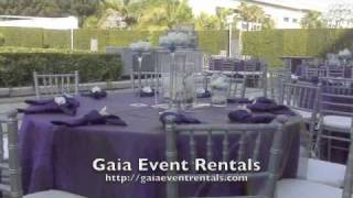 Chair and Table Rentals - Los Angeles Party Rental