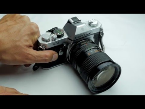 La cámara fotográfica análoga (35mm) - ¿Cómo se usa?