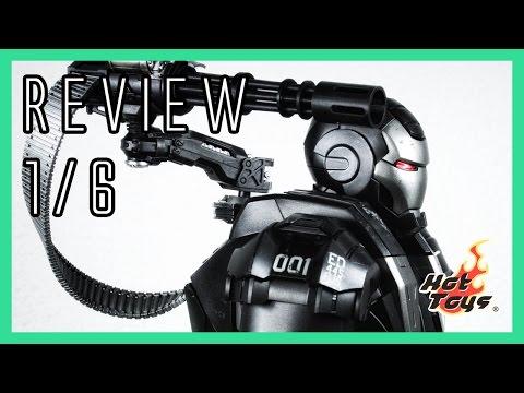 Hot Toys War Machine Mark 1 diecast video review & comparison MMS331