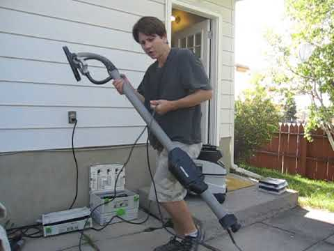Porter Cable 7800  Wall Sander Review | Calgary Painters