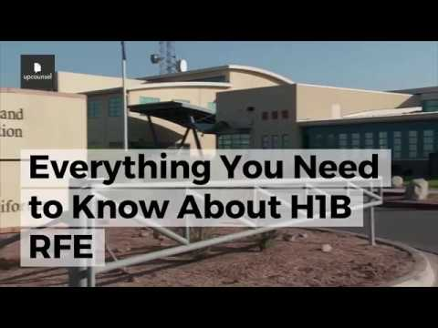 H1B RFE:  Everything You Need to Know