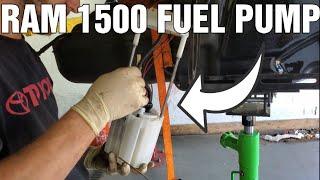 Fuel Pump and Fuel Level Sensor FIX on Ram 1500!!