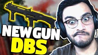 NEW GUN IN PUBG MOBILE, AIRDROP ONLY DBS SHOTGUN | PUBG MOBILE HIGHLIGHTS | RAWKNEE