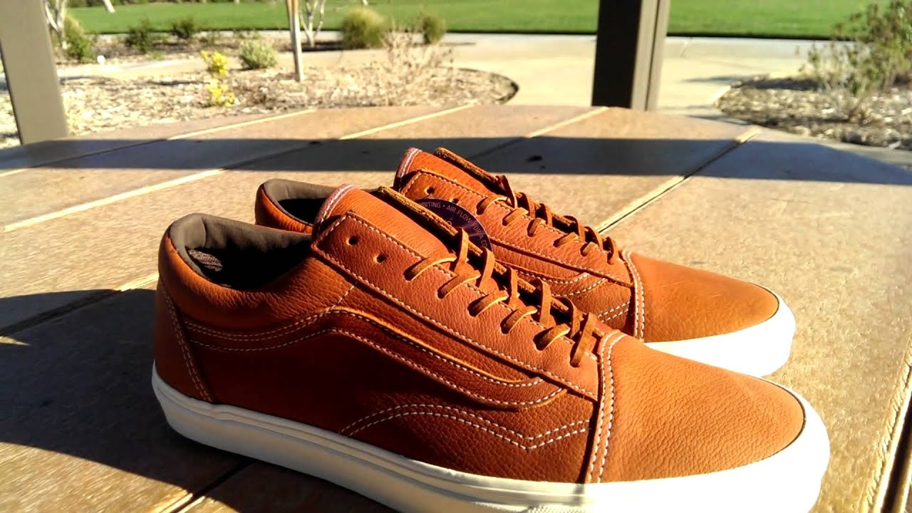 07c7f2cc0d Shoe Review  Vans California  Boot Leather  Old Skool Reissue (Henna ...