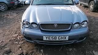 Jaguar X-TYPE S 2008: Обзор/тест автомобиля на разбор (машинокомплект) из Англии от...