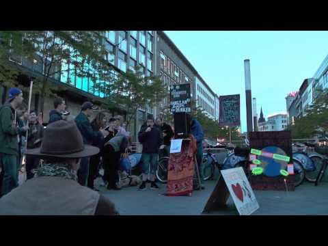 5. Mahnwache für Frieden - Hannover 5.5.2014 6v6