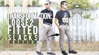 Transformation: Loose to Fitted ➥ Slacks Edition! Thumbnail