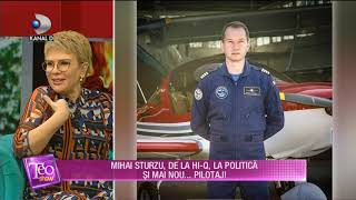 Teo Show 14.01.2019   Mihai Sturzu De La Hi Q Si A Luat Licenta De Pilot La 32 De Ani