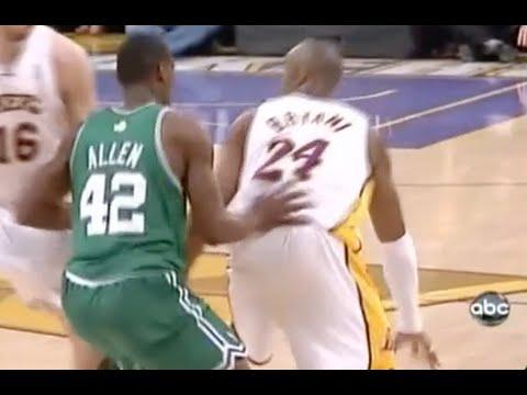 Tony Allen Defense on Kobe Bryant - 2008 Finals Game 5